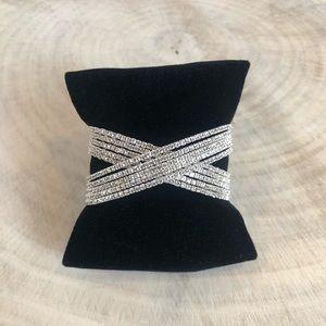 Jewelry - Crystal X Layer Bracelet